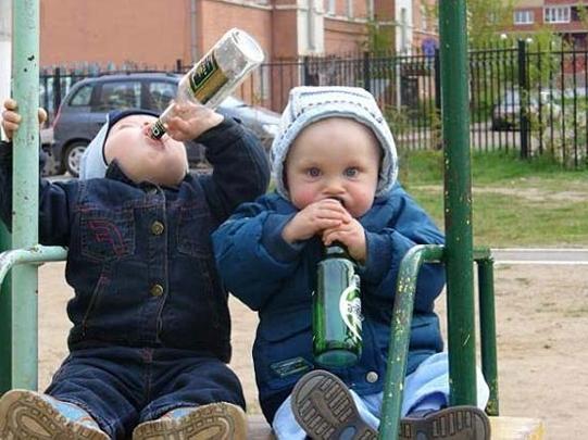 Детский алкоголизм и школа